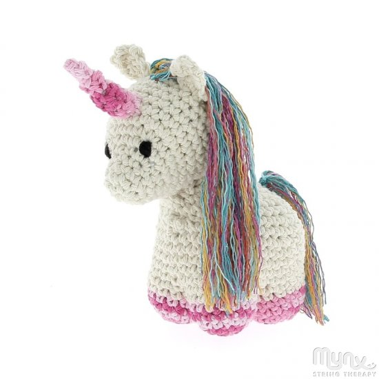Amigurumi Crochet Kit Nora Unicorn - Click Image to Close