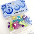 Button set - Sea Creatures