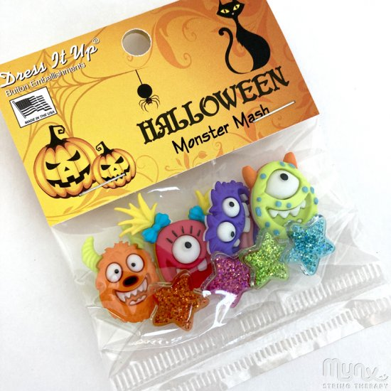 Button set - Monster Mash - Click Image to Close