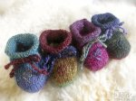 Wee Gems Mix'n'Match Silk Blend Booties