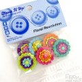Button set - Floral Revolution