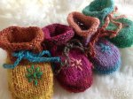 Silk Garden Lite Mix'n'Match Baby Booties Pattern